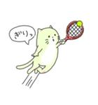 太っちょ猫、テニスをする(個別スタンプ:10)