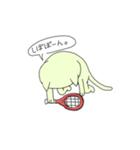 太っちょ猫、テニスをする(個別スタンプ:11)