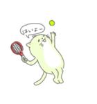 太っちょ猫、テニスをする(個別スタンプ:12)