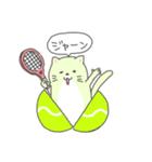 太っちょ猫、テニスをする(個別スタンプ:13)