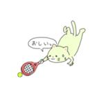 太っちょ猫、テニスをする(個別スタンプ:19)