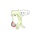 太っちょ猫、テニスをする(個別スタンプ:20)