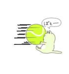 太っちょ猫、テニスをする(個別スタンプ:21)