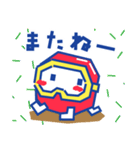 ディグダグほのぼのスタンプ(個別スタンプ:11)