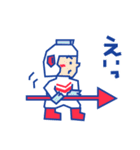 ディグダグほのぼのスタンプ(個別スタンプ:17)