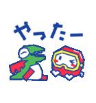 ディグダグほのぼのスタンプ(個別スタンプ:40)