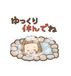 前髪短めな女の子の[冬のことば](個別スタンプ:18)