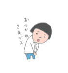おかっぱユメちゃん2nd(個別スタンプ:06)