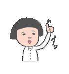 おかっぱユメちゃん2nd(個別スタンプ:18)