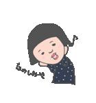 おかっぱユメちゃん2nd(個別スタンプ:21)
