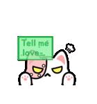 """ウノ キャット """"True Romance""""(個別スタンプ:07)"""