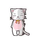 シロにゃんこ(個別スタンプ:09)
