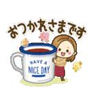 大人女子の日常【冬&年末年始】(個別スタンプ:15)
