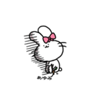 あゆみスタンプ2(ウサギちゃん)(個別スタンプ:02)