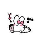 あゆみスタンプ2(ウサギちゃん)(個別スタンプ:28)