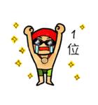 水泳男子(個別スタンプ:33)