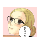 クローバー&クローバーtrèfle(稚野鳥子)(個別スタンプ:38)