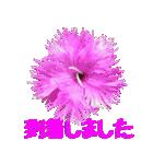 kikimama Flower Sticker(個別スタンプ:35)