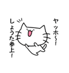 しょうたスタンプ2(ネコくん)(個別スタンプ:21)