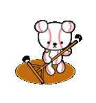 野球クマさん2(個別スタンプ:5)