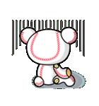 野球クマさん2(個別スタンプ:28)