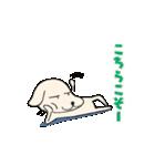 動く年賀状2018~あけおめイヌ~(個別スタンプ:10)