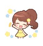♥甘めガーリー♥ダリア♥毎日つかえる言葉(個別スタンプ:40)