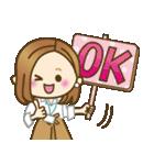 大人女子の日常【お仕事/連絡】(個別スタンプ:13)
