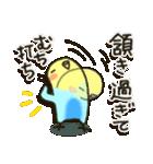 インコちゃん日常パック2(個別スタンプ:11)