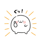まるもっち【冬】(個別スタンプ:09)