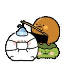 まるもっち【冬】(個別スタンプ:11)