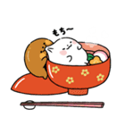 まるもっち【冬】(個別スタンプ:26)