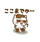 渋め猫のKさん<日常用シンプルスタンプ>(個別スタンプ:21)
