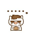 渋め猫のKさん<日常用シンプルスタンプ>(個別スタンプ:37)