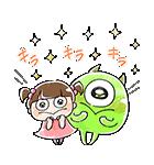 ゆる〜り♪モンスターズ・インク(個別スタンプ:04)