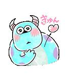 ゆる〜り♪モンスターズ・インク(個別スタンプ:17)
