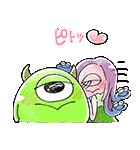 ゆる〜り♪モンスターズ・インク(個別スタンプ:24)