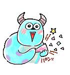 ゆる〜り♪モンスターズ・インク(個別スタンプ:33)