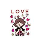 かわいい女子のあいさつ集(英語版)(個別スタンプ:40)