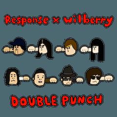 Responseスタンプ5 x wilberry
