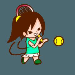 テニス用スタンプ