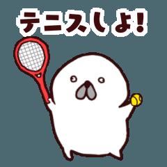 【テニス】連絡用スタンプ