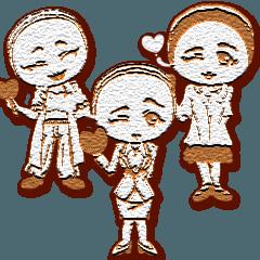 ラブリーガールズマカロンクッキー