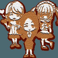 ラブリーガールズバレンタインクッキー