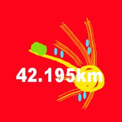 マラソン好きの会話【数字系】