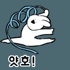 すこぶる動くウサギ5【韓国】