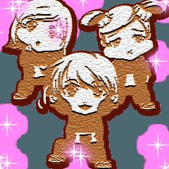 ラブリーヒップホップベイビーのクッキー