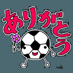 ジュニアサッカー応援ママのスタンプ第2弾