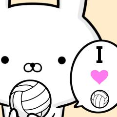 バレーボール好きの為のスタンプ☆2