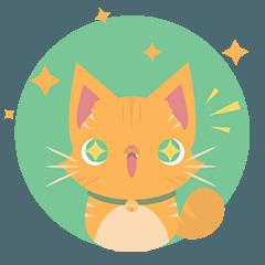 [LINEスタンプ] Rikiki the cat